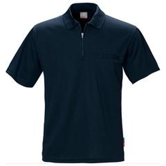 Fristads Kansas Poloshirt 100470 140gr Rits Coolmax Marine