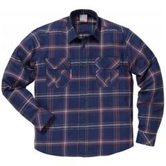 Fristads Overhemd 7421 MSF Geruit Marineblauw