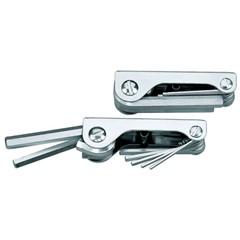 Stiftsleutelset 9-dlg 5/64-1/4 inch