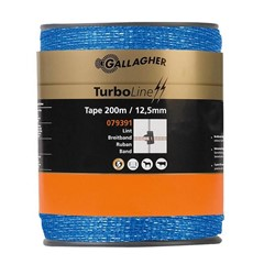 Gallagher Schriklint TurboLine (12,5 MM / Blauw) - 200 Meter