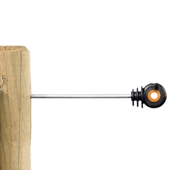 Afstandschoefsisolator XDI Recht 18 Cm Hout - Metalen Kern
