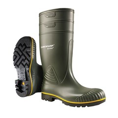 Dunlop Werklaars Acifort Heavy Duty Onbeveiligd Groen