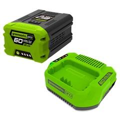 Greenworks Starter Kit 60 Volt Met 2.0 Ah Accu En Lader