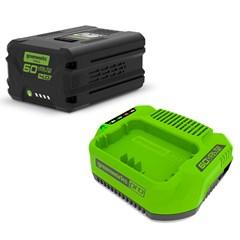 Greenworks Starter Kit 60 Volt Met 4.0 Ah Accu En Lader