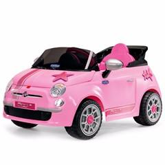 Peg Pérego Fiat 500 Pink 6-Volt