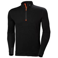 Helly Hansen Thermoshirt Lifa Merino Half Zip Zwart