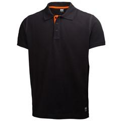 Helly Hansen Poloshirt Oxford 79025 210gr Zwart