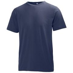 Helly Hansen T-Shirt Manchester 79098 180gr Marine
