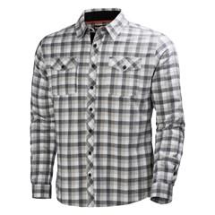 Helly Hansen Vancouver Overhemd Geruit Antraciet
