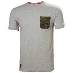 Helly Hansen T-Shirt Kensington Grijs/Camo
