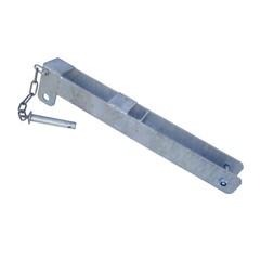 Overslagbeugel voor Landhek - Losse Pen en Ketting