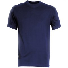 HaVeP T-Shirt Basic Marineblauw