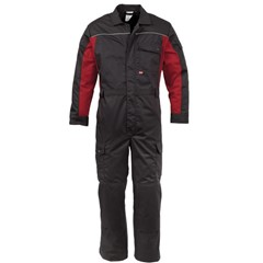 Havep 4Seasons Polyester/Katoen Overall 20004 Grijs/Rood