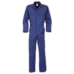 HaVeP Basic Polyester/Katoen Overall 2096 Rafblauw