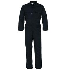 HaVeP Basic Polyester/Katoen Overall 2096 Zwart