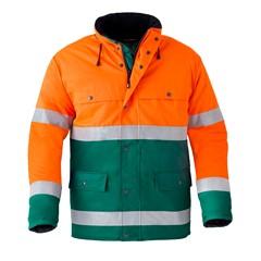 HAVEP Hi-Vis Parka Jas 4133 Oranje/Groen