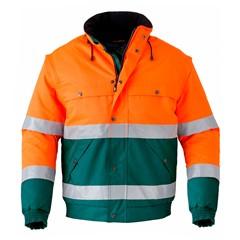 HAVEP Hi-Vis All Season Jack 5139 Oranje/Groen