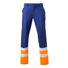 HaVeP Werkbroek High Visibility 8397 Marine/Fluor oranje