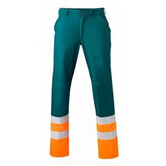 HaVeP Werkbroek High Visibility 8397 Groen/Fluor oranje