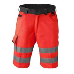 HaVeP High Visibility Bermuda 8703 Kleur Fluor rood/charcoal grijs