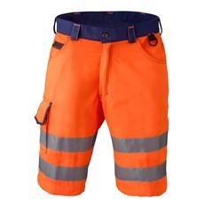 Havep High visibility 8703 shorts marine/oranje