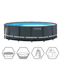 Intex Ultra XTR Frame Zwembad Ø488 x 122 cm