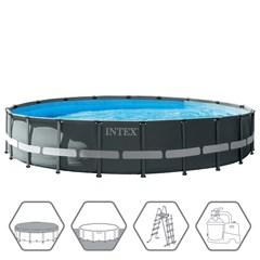 Intex Ultra XTR Frame Zwembad Ø610 x 122 cm