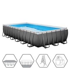 Intex Zwembad Ultra Rechthoekige Frame 732 x 366 x 132 cm