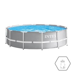 Intex Opzetzwembad Prism Frame - Ø 305 x 76 cm