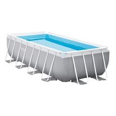 Intex Prism Frame Zwembad 400 x 200 x 100 cm - Met Zwembadpomp