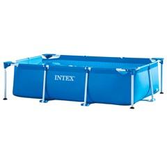 Intex Opzetzwembad Metal Frame Rechthoekig - 220 x 150 x 60 cm