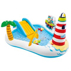 Intex Speelzwembad Fishing Fun - 219 x 188 x 99 cm