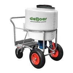 De Boer melktransporter 170 liter met kraan & mixer