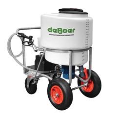 De Boer melktransporter 170 liter met mixer & pomp