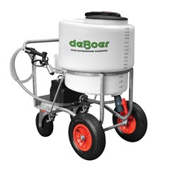 De Boer melktransporter 170 liter met pomp