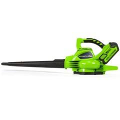 Greenworks Accu Bladblazer/-zuiger 40 Volt Met 4.0 Ah Accu En Lader