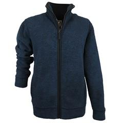 Mongo Fleece Vest King Blauw