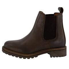 Travelin' Dames Boot Chelsea Skjern Bruin