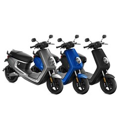 NIU E-Scooter MQI+ Sport Extended 45 km