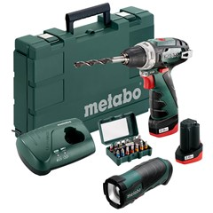 Metabo PowerMaxx Basic Set 10.8 Volt
