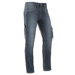 Bram's Paris Spijkerbroek David R12 Medium Blue