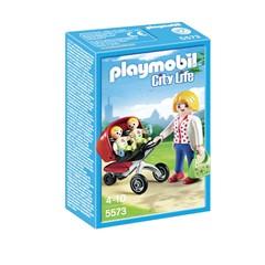 PLAYMOBIL City Life 5573 - Tweeling Kinderwagen