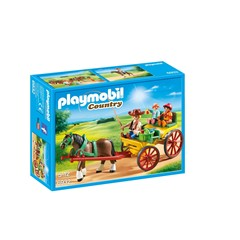 PLAYMOBIL Country 6932 - Paard en kar