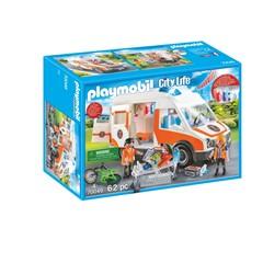 PLAYMOBIL City Life 70049 - Ambulance en ambulanciers