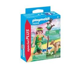 PLAYMOBIL Playmo-Friends 70059 - Nimf en hertenkalf
