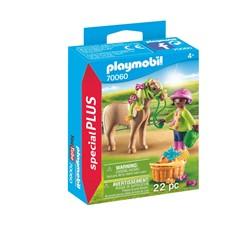 PLAYMOBIL Playmo-Friends 70060 - Meisje met pony