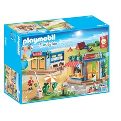 PLAYMOBIL Family Fun 70087 - Grote camping