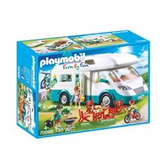 PLAYMOBIL Family Fun 70088 - Mobilhome met familie