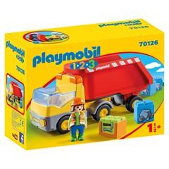 PLAYMOBIL 1.2.3 70126 - Kiepwagen