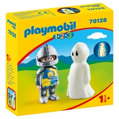 PLAYMOBIL 1.2.3 70128 - Ridder en spook